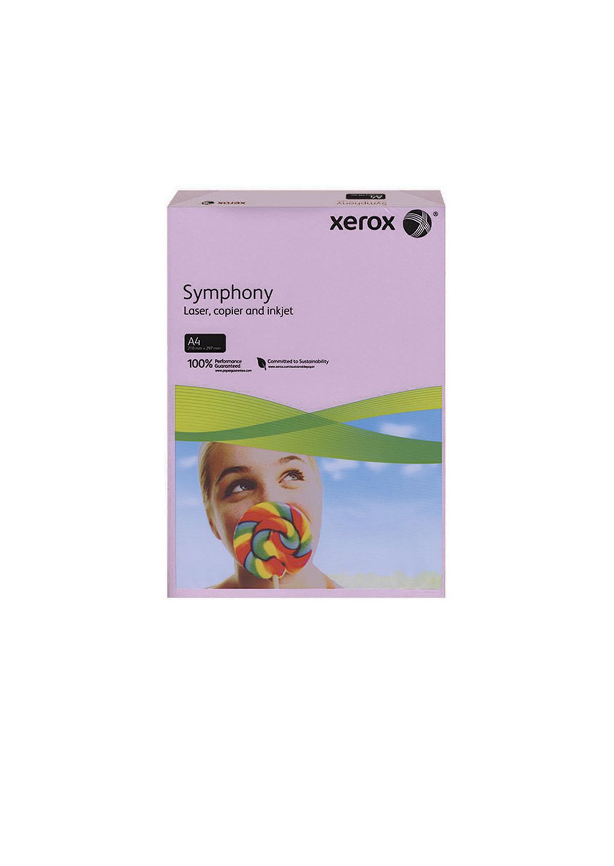 Цветна копирна хартия Xerox Symphony Наситен Тъмночервен 003R93954 А4 80гр.