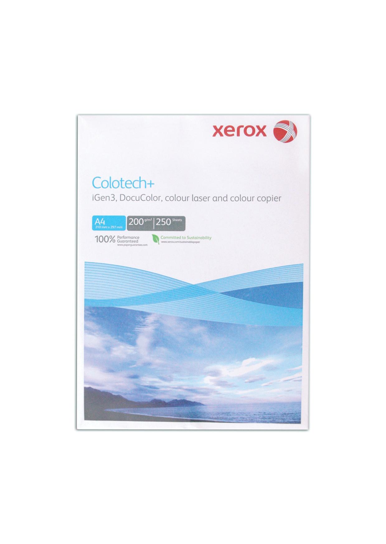 Копирна хартия Xerox Colotech+ А3, 250 листа 200g/m2  бял